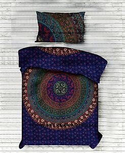 Hippie Indian Tapestry Bedspread Mandala Decor Dorm Bedding Bed Sheet Boho Art