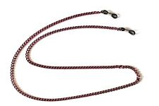 Red Metal Eyeglass Sunglass Chain Chains Lanyard Holder