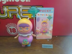 Pop Mart Pucky Balloon Babies Mini Figure Pink Alien