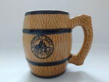Vintage Old Kentucky Root Beer Hand Painted Ceramic Mug Japan Brown
