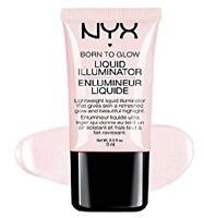 NYX Born To Glow Liquid Illuminator SUNBEAM LI01 New pale pink pearl
