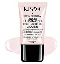NYX Born To Glow Liquid Illuminator SUNBEAM LI01 New pale pink pearl