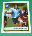 N°56 PABLO COSTABILE URUGUAY MERLIN RUGBY IRB WORLD CUP 1999 PANINI COUPE MONDE