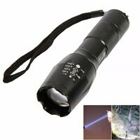 Ultrafire CREE LED T6 1600LM 5 Mode Zoomable Flashlight Torch Lamp -US SHIP