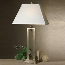 Uttermost Conrad Table Lamp in Brushed Aluminum