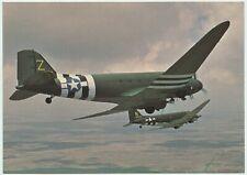 AFTER THE BATTLE POSTCARD - DOUGLAS C-47 SKYTRAIN/SKY TROOPER