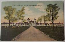 Vintage Postcard O.C.Barbers barn no.3 Barberton Ohio