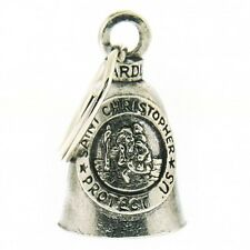 St. Christopher Guardian® Bell Motorcycle Harley Luck Gremlin Ride NEW