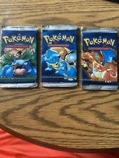 Pokemon unlimited Base Set Booster Pack spanish