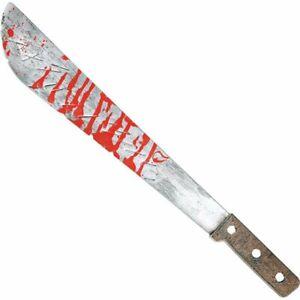51cm Long Machete Knife Jason Blood Fancy Dress Costume Toy Prop Scary Halloween