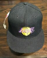 VTG LOS ANGELES LAKERS NEW ERA PRO MODEL FITTED HAT CAP NBA NEW SIZE 7