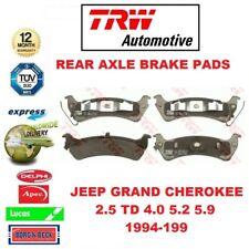 FOR JEEP GRAND CHEROKEE 2.5 TD 4.0 5.2 5.9 1994-1999 REAR AXLE BRAKE PADS SET