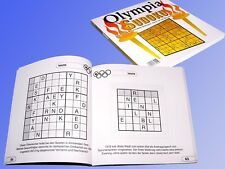 Olympia Sudoku 192 Pages over 140 Letters Sudokus to the Olympics Play