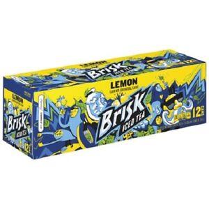 Brisk Lemon Iced Tea 12 Pack of Cans