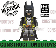 Batman Lego Custom PAD UV PRINTED Minifigure Batman
