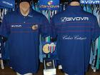 Calcio Catania Givova Polo Style Shirt Maglietta Trikot Top Training Leisure