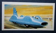 BLUEBIRD  Campbell's Land Speed Record Car      Vintage Card # EXC