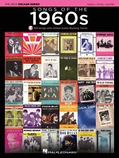 Songs of the 1960s Sheet Music The New Decade Series with Optional Onl 000137596