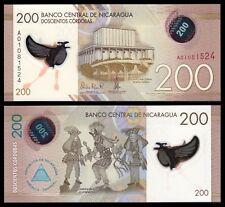 Nicaragua 200 Córdobas Res. 26-3-2014 Pick 213  SC = UNC