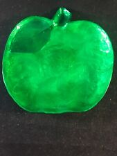 Rustans Apple Shell Green Trinket Dish NWT 6 Inches