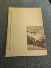 Who Lived Here? A Baker's Dozen of Historic New England Houses HC 1952