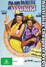 Ma & Pa Kettle At Waikiki DVD NEW, FREE POSTAGE WITHIN AUSTRALIA REGION 4