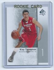 Klay Thompson 2011-2012 SP Authentic Rookie Card #23 QTY available