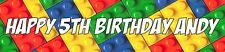 2 personalised lego banners all Occasions birthday party christening child toys