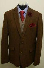 Burton Brown Mens Tweed Blazer Size Large