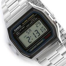 Casio digital watch retro unisex A158 A158W A158WA A158WA-1DF UK Seller