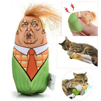 Funny Cat Stuffed Plush Corn Pet Kitten Toys Interactive Teaser Catnip Squeaky