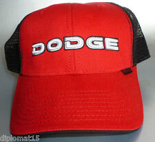 Dodge Motorsports Maille De Camionneur Casquette Snapback Nascar Sample NEUF