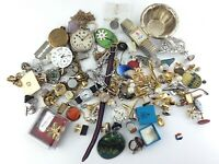 Junk Drawer Vintage Fashion Costume Jewelry Lot Miscellaneous S538