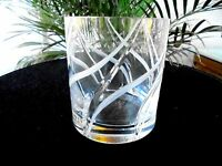 High Quality Swirl Clear Double Old Fashioned Rocks Glass