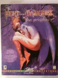 Night and Darkness the Prophecy PC Vintage 1998 Fantasy New Sealed Interplay