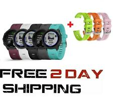 Garmin Forerunner 245 GPS Running Smartwatch with Included Wearable4U 3 Straps