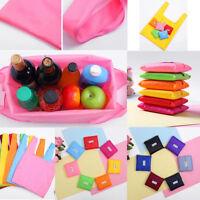 20pcs Eco Shopping Portable Shoulder Bag Pouch Tote Handbag Folding Reusable Bag