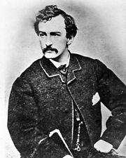 New 8x10 Photo: John Wilkes Booth, Assassin of President Abraham Lincoln