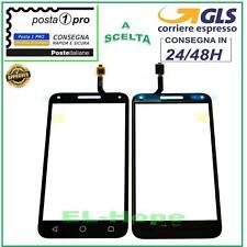 TOUCH SCREEN VETRO ALCATEL ONE TOUCH U5 3G OT-4047D 4047X DIGITIZER NERO
