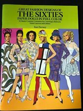New listing Tom Tierney Great Fashion Designs of The Sixties Paper Dolls in Full Color