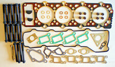 FOR MITSUBISHI PAJERO SHOGUN 4M40T 2.8 TDi HEAD GASKET SET AND BOLTS 5 YEARS WAR