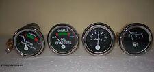 Massey Ferguson Temp Oil Pr Male Fuel Ampere Gauge Set TE20 T020 T030 50
