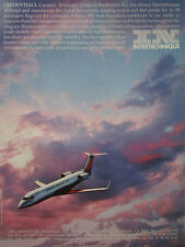 8/1991 PUB INTERTECHNIQUE CANADAIR REGIONAL JET FUEL PUMP SYSTEM ORIGINAL AD