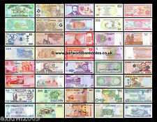 AFRICA BANKNOTE COLLECTION - 20 DIFFERENT UNC BANKNOTES 20 PCS  SET # 3
