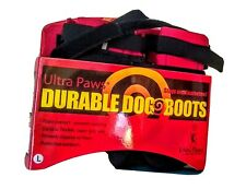 Ultra Paws Durable Dog Boots Size Large Washable Reusable NEW