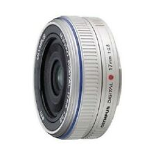 USED Olympus M.ZUIKO 17mm f/2.8 for Micro 4/3 Silver Excellent FREE SHIPPING