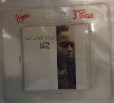 Lenny Kravitz Let Love Rule + I Build This Garden For Us 3'' Virgin CD Singles