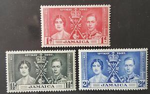 Omnibus - Jamaica - 1937 - Sc 113 - 15 - KGVI Coronation Issue VF MH
