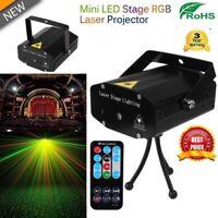 LED RGB Stage Light Laser Strobe Beam DMX Disco DJ Party KTV Projector Lamp SG