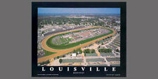 Louisville, Kentucky CHURCHILL DOWNS Aerial View Horse Racing POSTER Print